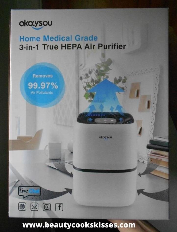HEPA Air Purifier Review-Okaysou AirMic4S - Beauty Cooks ...